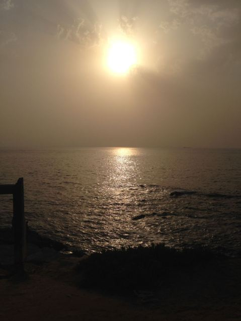 Pôr do sol em Vila Nova de Milfontes